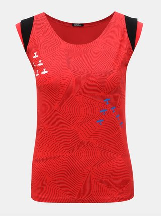 Červené tričko s potiskem Mayda Vrstevnice