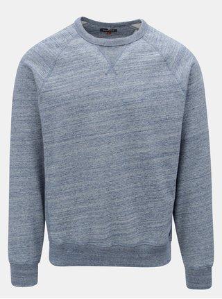 Bluza sport regular albastra melanj Blend