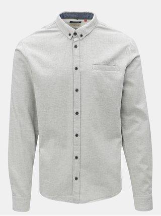 Sivá slim košeľa Blend