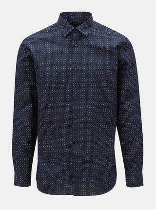 Modrá slim fit košile Selected Homme