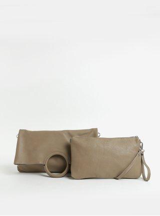 Béžová kožená kabelka s puzdrom 2v1 ZOOT