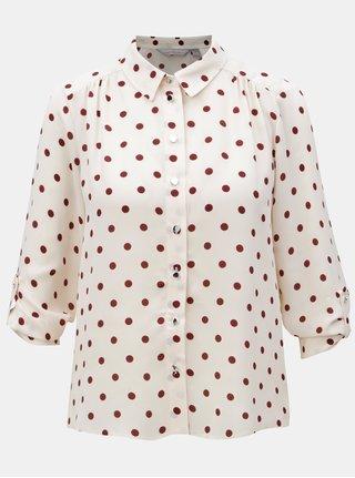 Světle růžová košile s puntíky Dorothy Perkins Petite