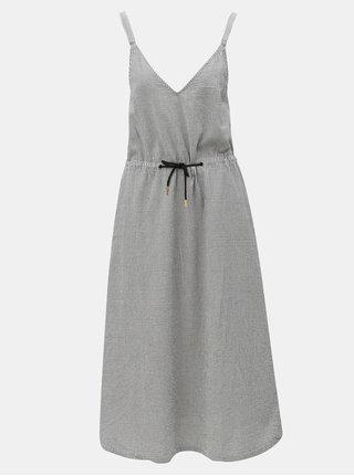 Rochie midi alb-negru Moss Copenhagen