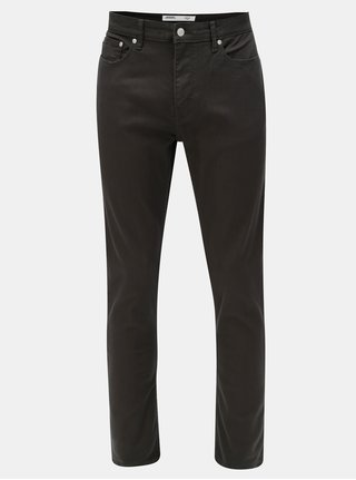 Blugi gri inchis slim din denim Burton Menswear London