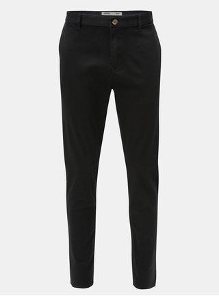 Pantaloni tapered fit negri Burton Menswear London
