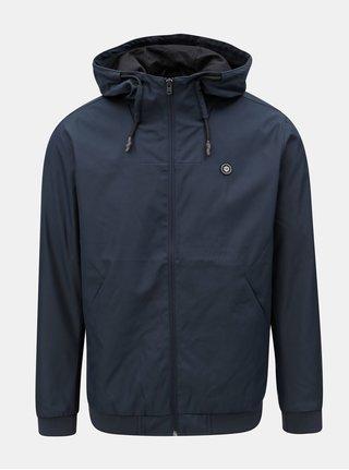 Jacheta albastru inchis lejera impermeabila cu gluga Jack & Jones Alu
