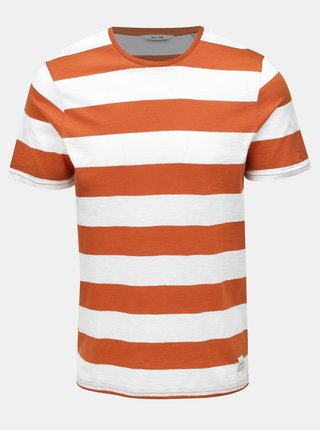 Tricou alb-maro in dungi ONLY & SONS Dontell