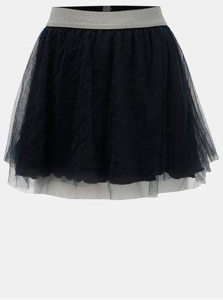 Tmavě modrá tylová sukně Blue Seven