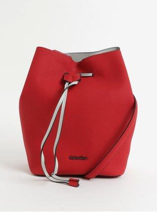 Červená velká kabelka Calvin Klein Jeans