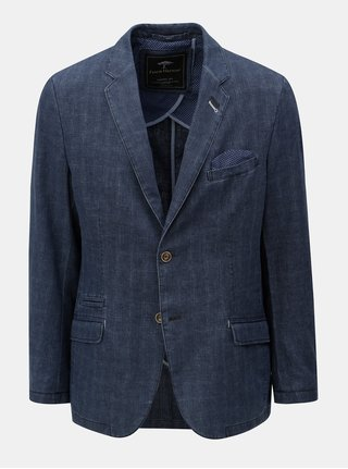 Sacou casual fit albastru inchis Fynch-Hatton