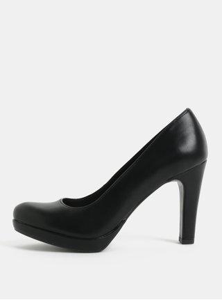 Pantofi negri cu toc inalt Tamaris