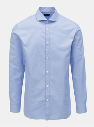Camasa albastra formala regular fit Selected Homme