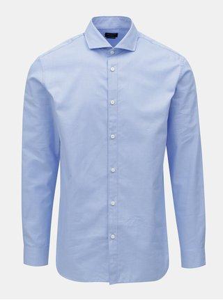 Modrá formálna regular fit košeľa Selected Homme