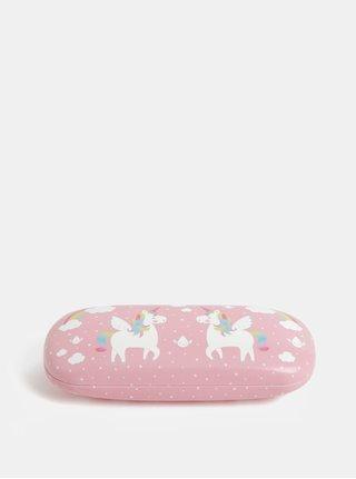 Toc de ochelari roz pentru copii cu unicorni Sass & Belle Rainbow Unicorn