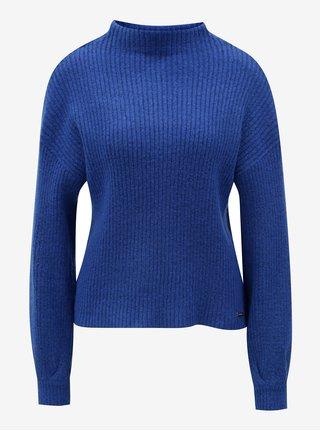 Modrý dámsky oversize sveter Broadway Gaela