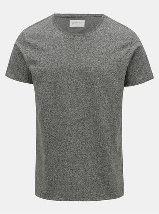 Zelené melírované basic tričko Lindbergh