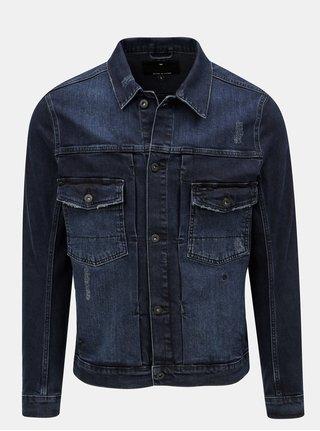 Jacheta albastra din denim JUNK de LUXE