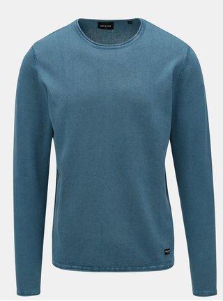 Modrý lehký svetr ONLY & SONS