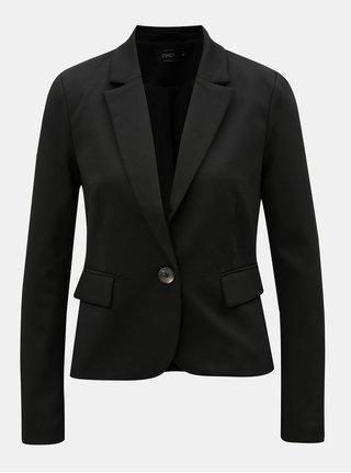 Černé sako s dlouhým rukávem ONLY