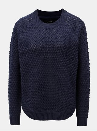 Tmavě modrý svetr VERO MODA Mami Surt Curve