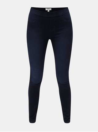 Modré jeggings Dorothy Perkins