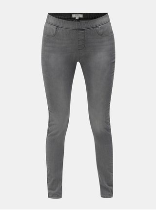 Šedé jeggings Dorothy Perkins