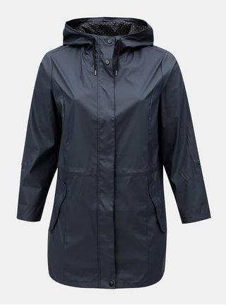 Jacheta parka albastru inchis impermeabila Dorothy Perkins Curve