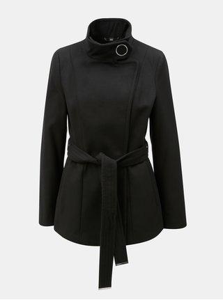 Černý krátký kabát Dorothy Perkins