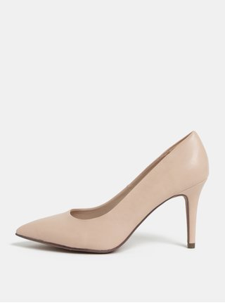 Pantofi roz deschis cu toc cui Dorothy Perkins Electra