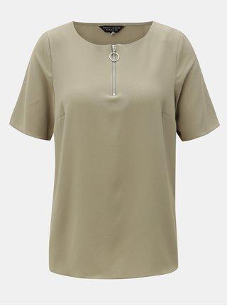 Bluza verde cu maneci scurte Dorothy Perkins