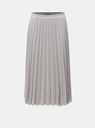 Svetlosivá plisovaná sukňa ZOOT