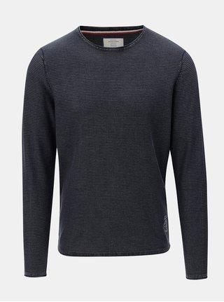 Modrý tenký sveter Jack & Jones Laundry