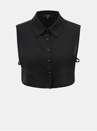 Černá košilová vsadka Yest
