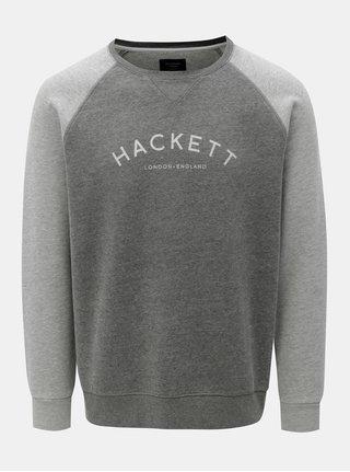 Bluza sport gri classic fit Hackett London