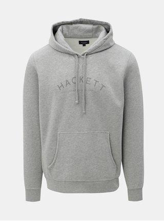 Hanorac gri classic fit Hackett London