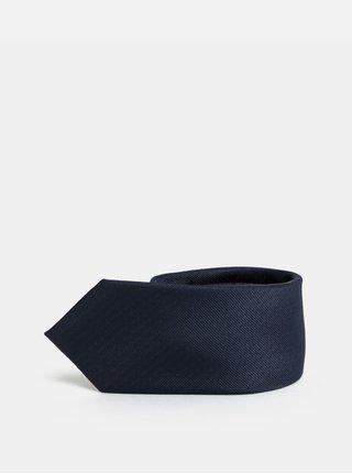 Tmavomodrá slim kravata Selected Homme Valdemar