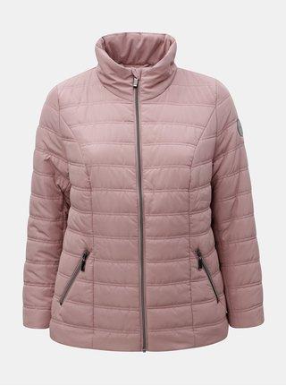 Jacheta de iarna matlasata roz prafuit Ulla Popken