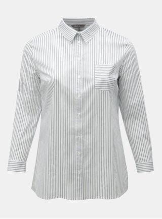 Modro-biela pruhovaná košeľa Ulla Popken