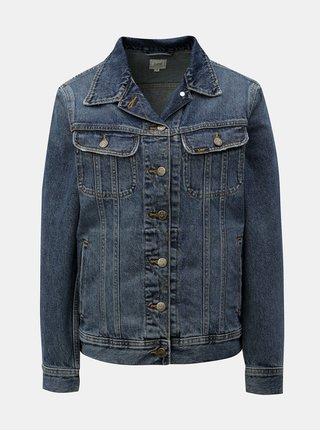 Modrá dámská džínová bunda Lee