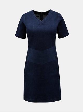 Modré rifľové šaty Lee