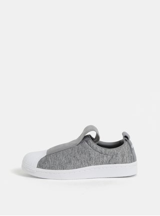 Tenisi de dama slip-on gri adidas Originals Gretwo