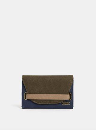 Zeleno-modrá peněženka Roxy Beach