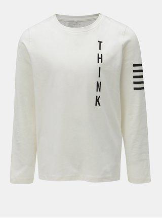 Biele chlapčenské tričko s potlačou Name it Okyo