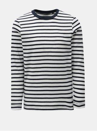 Modro-biele chlapčenské pruhované tričko Name it Villy