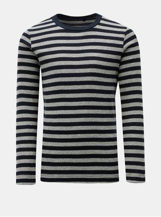 Šedo-modré klučičí pruhované tričko Name it Villy