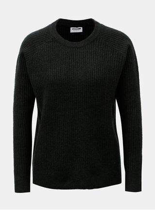 Tmavozelený sveter s prímesou vlny Noisy May Vitta