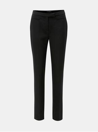Pantaloni straight negri cu talie inalta Dorothy Perkins Tall