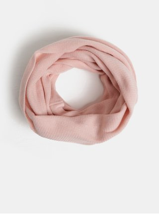 Fular circular roz inchis Pieces Drace