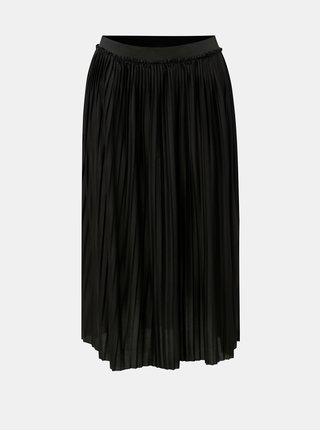 Černá plisovaná sukně Jacqueline de Yong Asymic