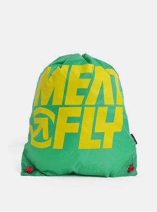 Zelený vak s potiskem Meatfly